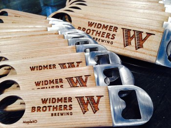 Maple XO - Widmer bottle opener